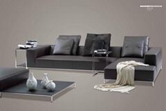 Solid modern sofa