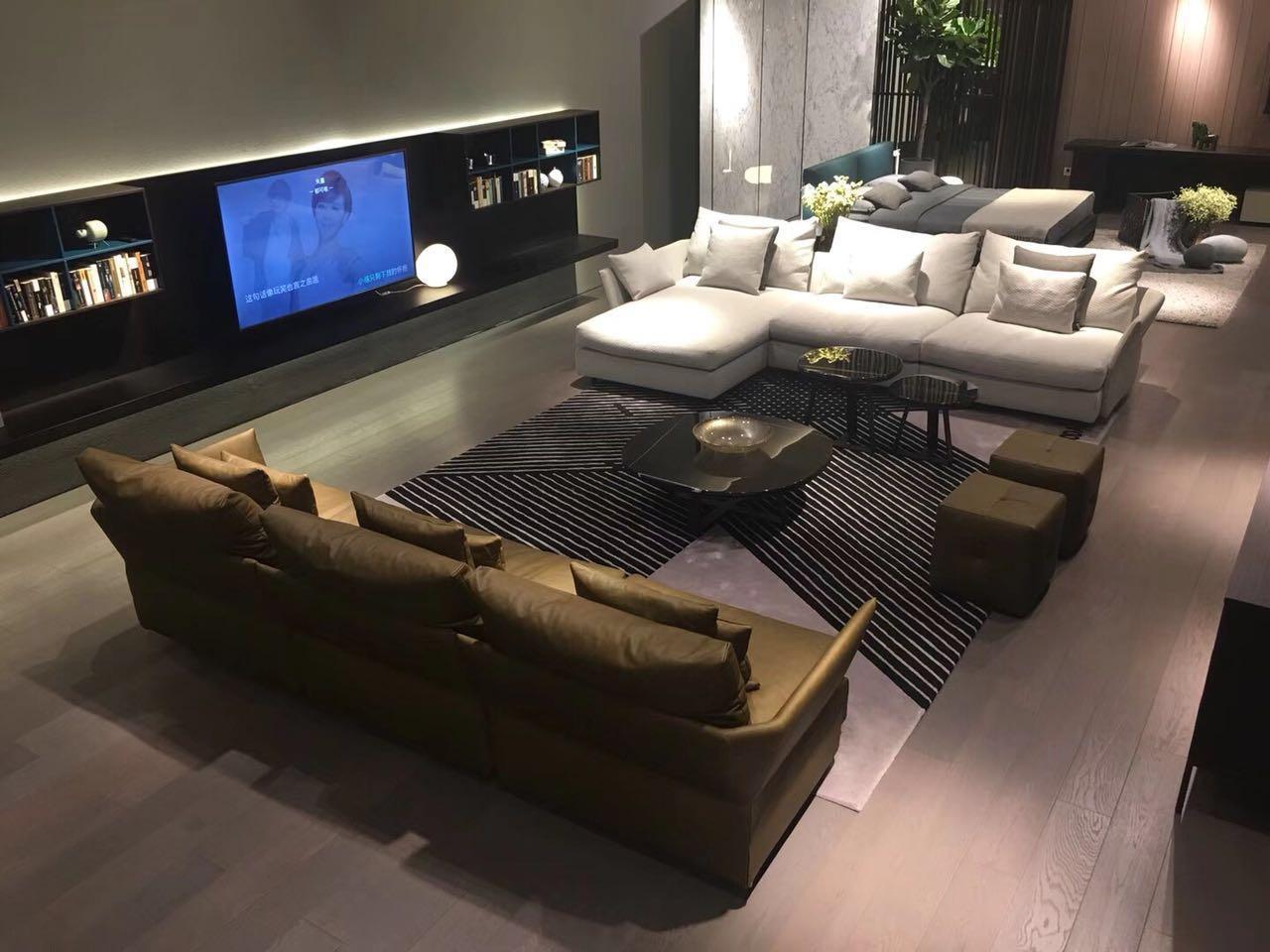Solid modern sofa 2