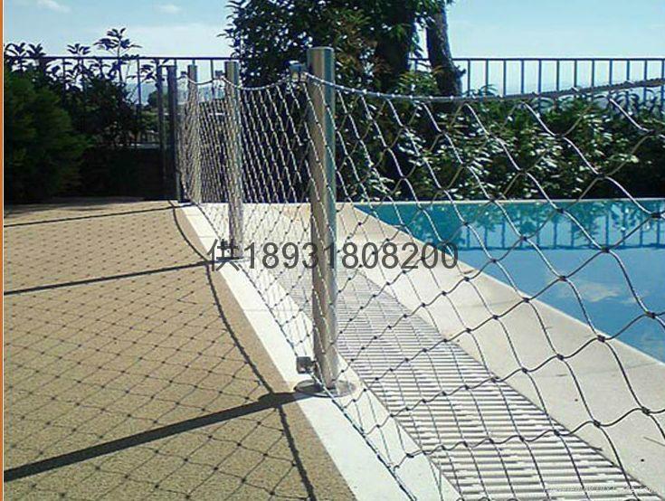 佛山316不鏽鋼絲繩扣網mesh 2