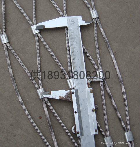佛山316不鏽鋼絲繩扣網mesh 5
