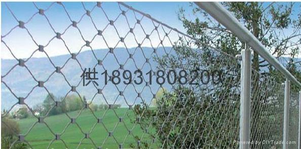佛山316不鏽鋼絲繩扣網mesh 4