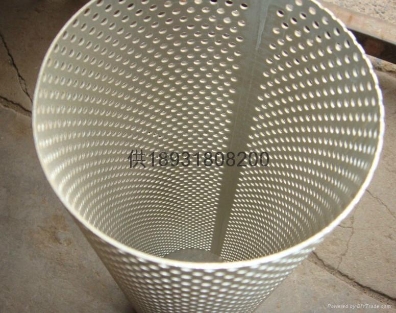 不锈钢直缝焊接滤芯中心网孔管anping 1