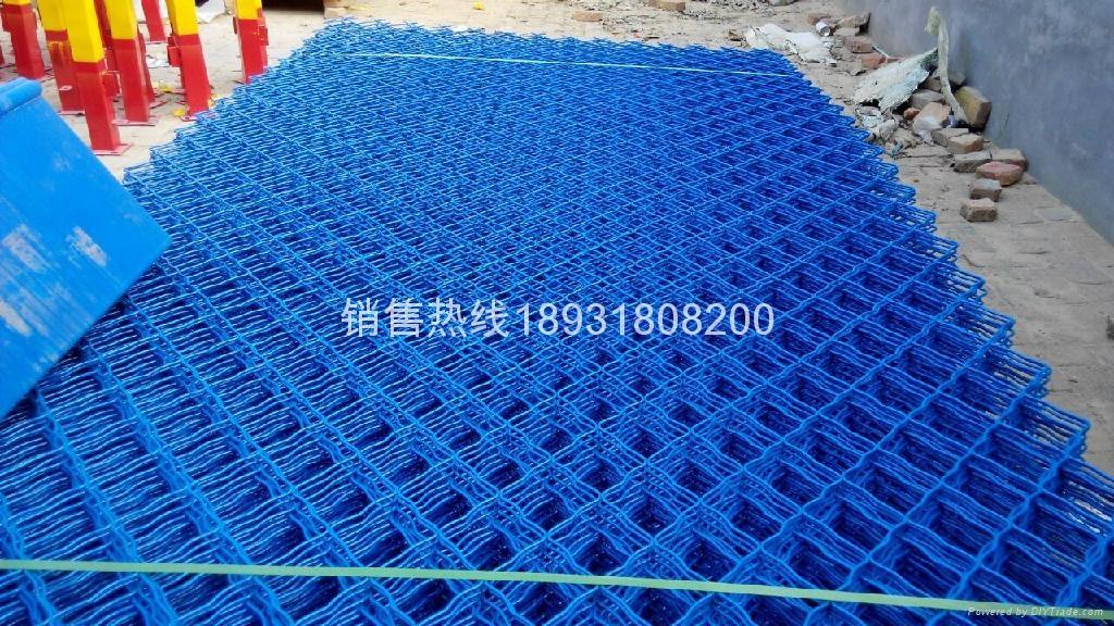 安平彩色钢丝网片 2