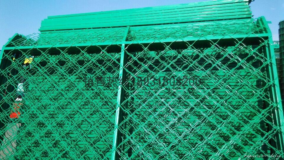 安平彩色钢丝网片 4