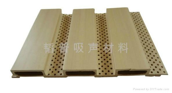 生态木吸音板 2