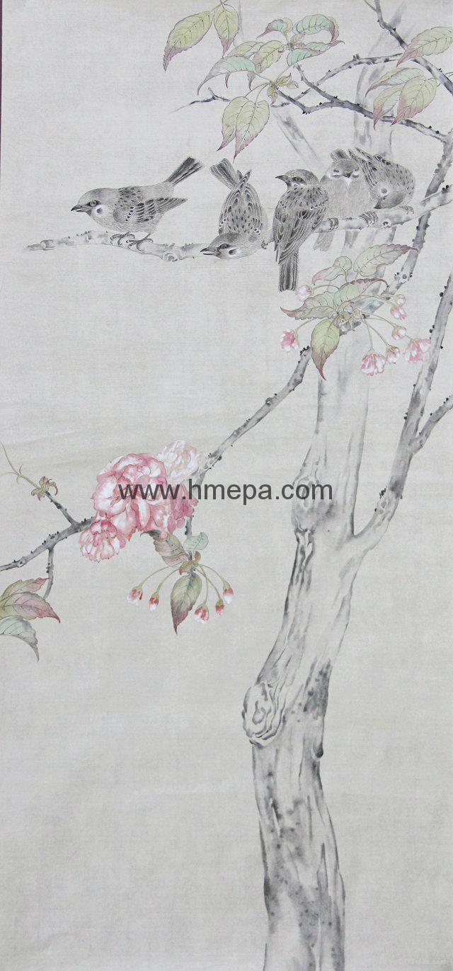工筆畫 (花鳥) 1
