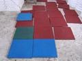 批发各种彩色橡胶地垫