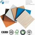 三胺纸贴面密度板/1830*2440/E2/E1/E0/CARB/FSC 2