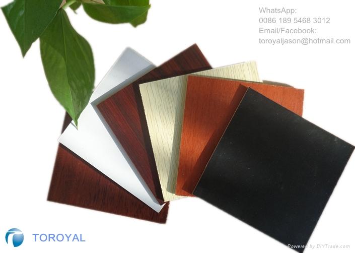 三胺纸贴面密度板/1830*2440/E2/E1/E0/CARB/FSC 4