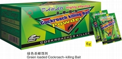 Origial Dahao Brand The Best Cockroach Killing Bait with Classic 6 Gram Green Pa