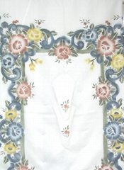 air brush satin cutwork Tablecloths