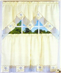embroidery kitchen curtain 5