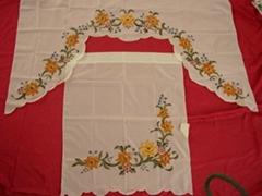 airbruch kitchen curtain