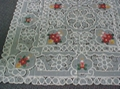 embroideried cutwork tablecloth ,X-Mas tablecloth