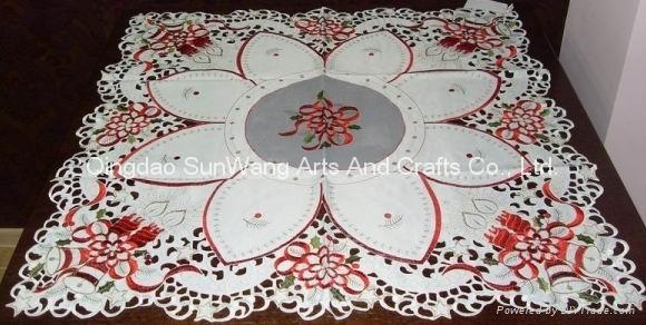 flower tablecloth