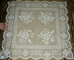 filet tablecloth