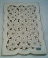 embroideried cutwork tablecloth,placemat