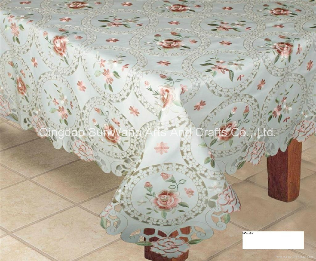 embroidered tablecloth - China - Manufacturer