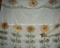 air brush window curtain  cortina impresa