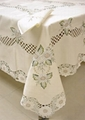 cutwork embroideried tablecloth