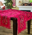 christmas embroidered tablerunner