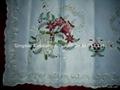 x-mas tablecloth obrusy Weihnachtstischdecke