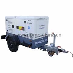 拖車式柴油發電機組