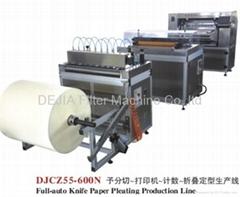 Full-Auto Knife Paper Pleating Machine