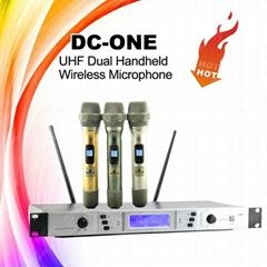 DC-ONE Dual Handheld Wireless Microphone