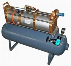 压缩空气增压泵