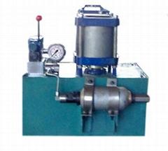 Hydrostatic testing machine