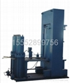 Hydrostatic pressure testing device