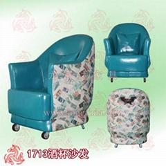 中山網吧沙發桌椅