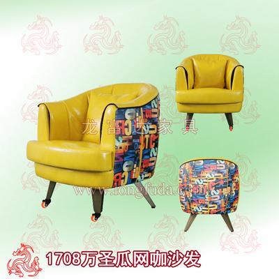 惠州网吧沙发桌椅 1