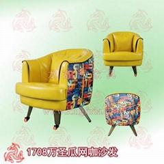 惠州網吧沙發桌椅