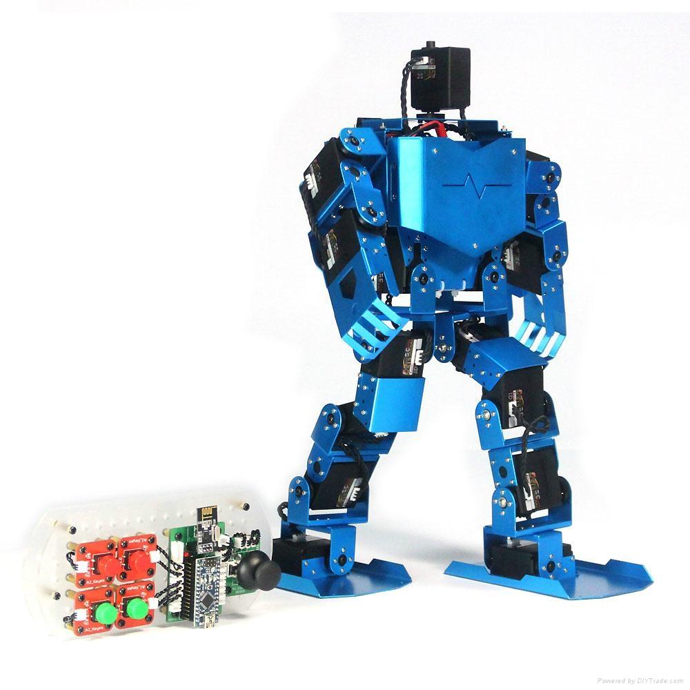 Robotic servo support dof educational humanoid arduino