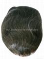 invisible men toupee/hair toupee 3