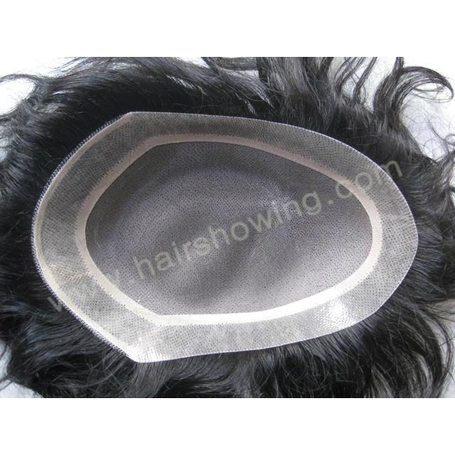 human hair toupee 1