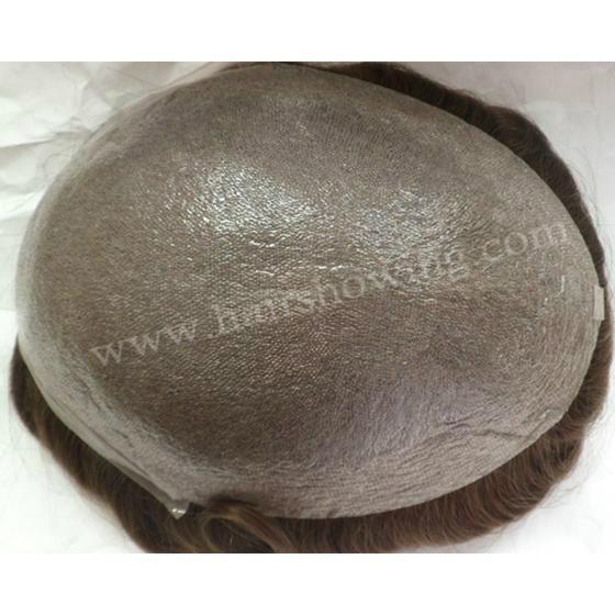 super thin skin hair toupee for men 1