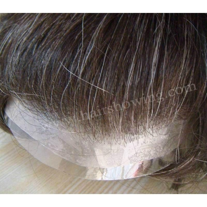 super thin skin hair toupee for men 3