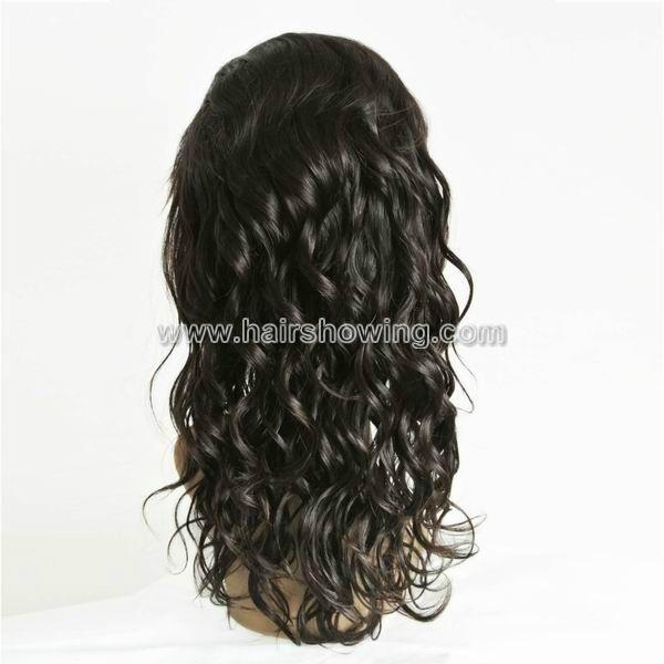 indian hair full lace wigs 2