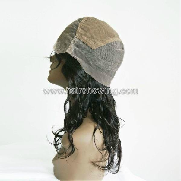 indian hair full lace wigs 4