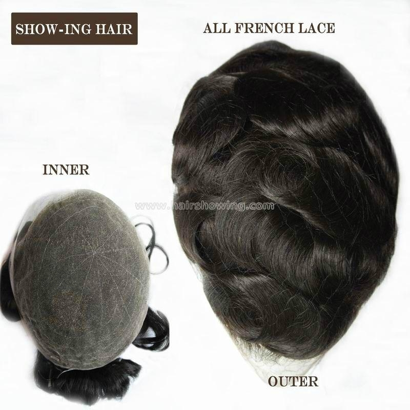 invisible all lace toupee 1