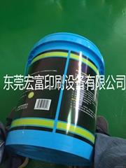 润滑油塑料桶自动转印机