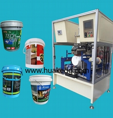 桶轉印機塑料桶潤滑油桶自動熱轉印機