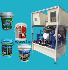 桶转印机塑料桶润滑油桶自动热转印机