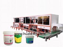 桶自動印刷機塑料桶塗料桶潤滑油桶全自動絲印機