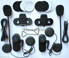 1000M Bluetooth Motorcycle Intercom Headset
