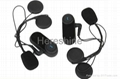 1000m Helmet Bluetooth Headset for