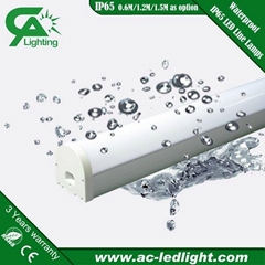 IP65 48W led line lamps/All in one led tube